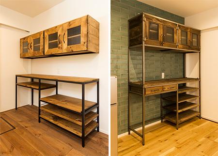 オリジナル家具・キッチン収納