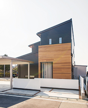 低炭素住宅外観