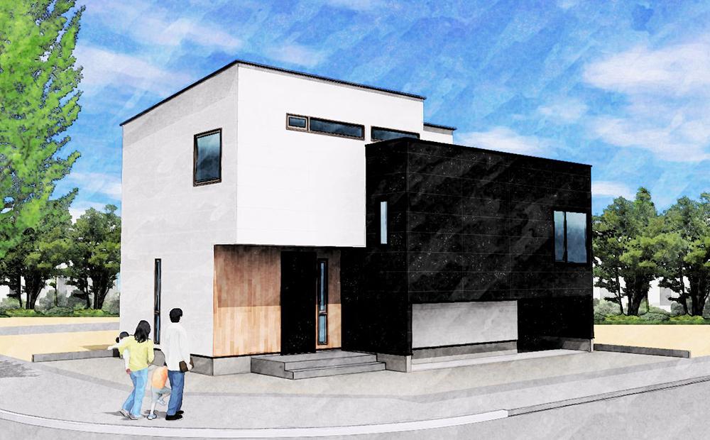 太平モデルハウス外観イメージ